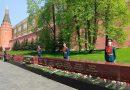В Александровском саду открыт памятный знак в честь городов воинской славы
