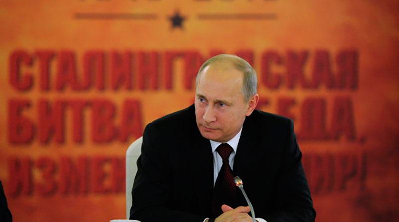 Путин о СТалинграде и нормативной базе для поисковиков