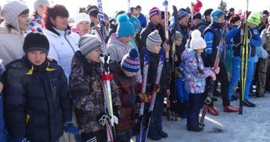 Лыжный пробег «Эстафета Памяти»