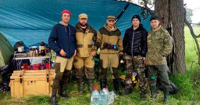 Подъем солдата РККА в Зубовском районе